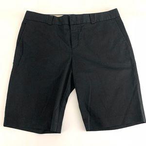Banana Republic Bermuda Dress Shorts Black